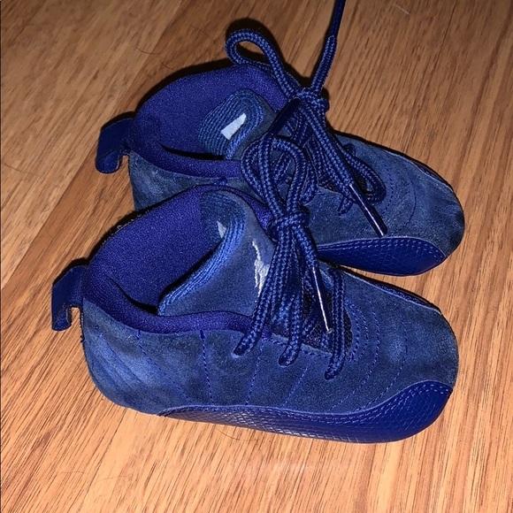 brand new 81c9e 03dcb Jordan Retro 12- blue suede